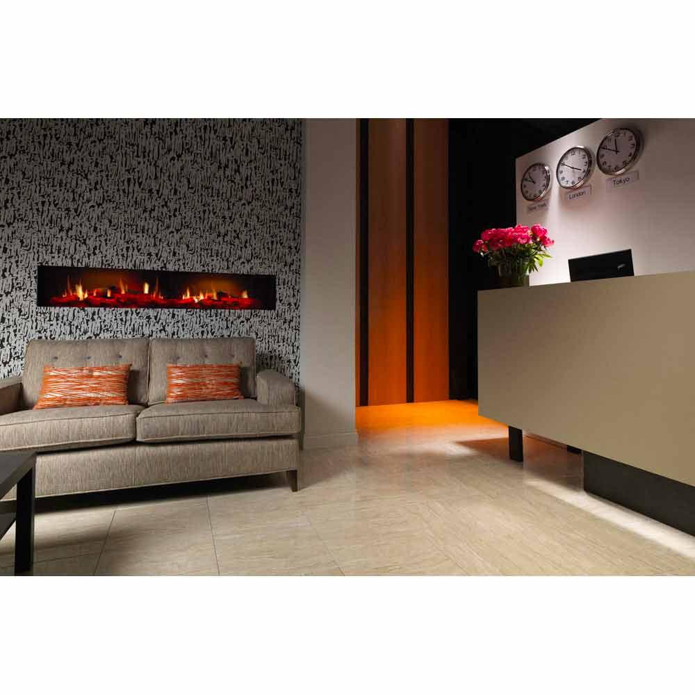 fausse chemin e design lectrique murale edimburgo double. Black Bedroom Furniture Sets. Home Design Ideas