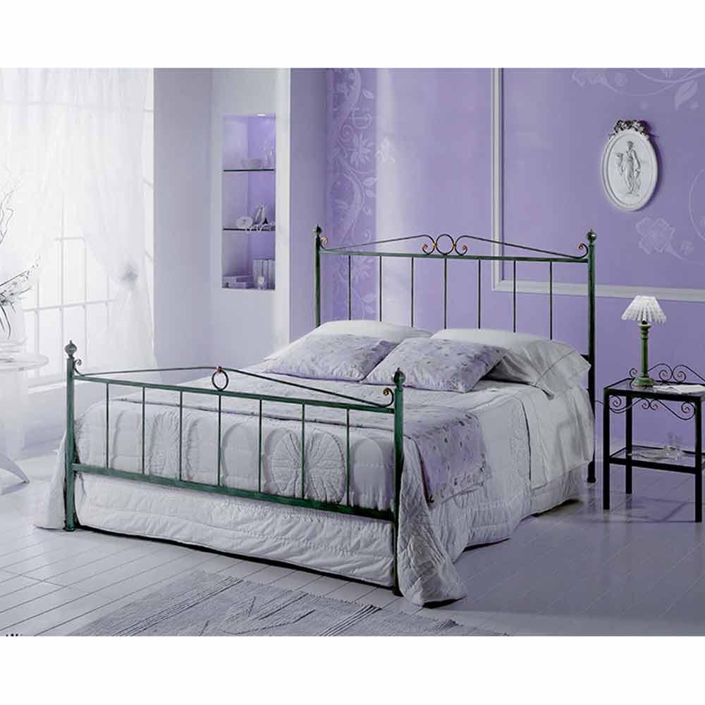 lit double en fer forg fauno fait la main en italie. Black Bedroom Furniture Sets. Home Design Ideas