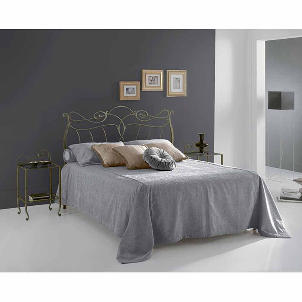 lit une personne en fer forg venere fait la main en italie. Black Bedroom Furniture Sets. Home Design Ideas