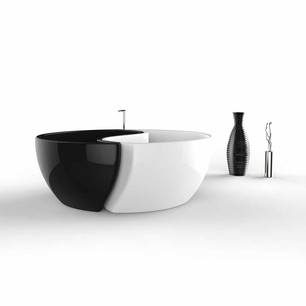 baignoire de haut gamme en adamantx fabriqu e en italie bath tao. Black Bedroom Furniture Sets. Home Design Ideas