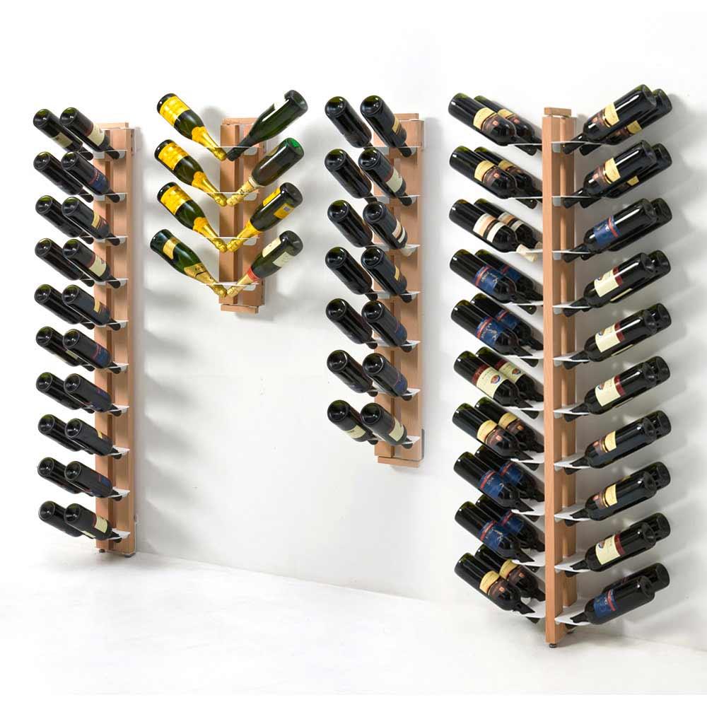 porte bouteilles mural unilat ral de design zia gaia. Black Bedroom Furniture Sets. Home Design Ideas