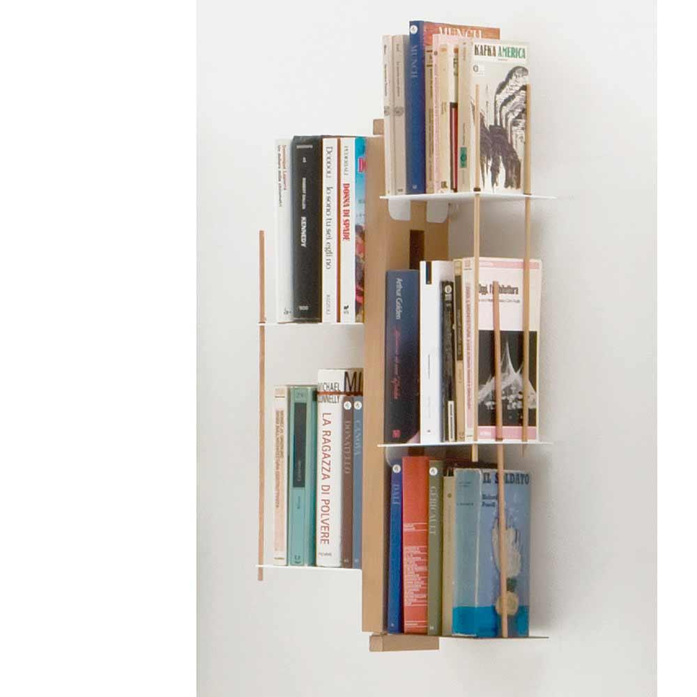 Biblioth que suspendue murale zia veronica - Bibliotheque murale suspendue ...