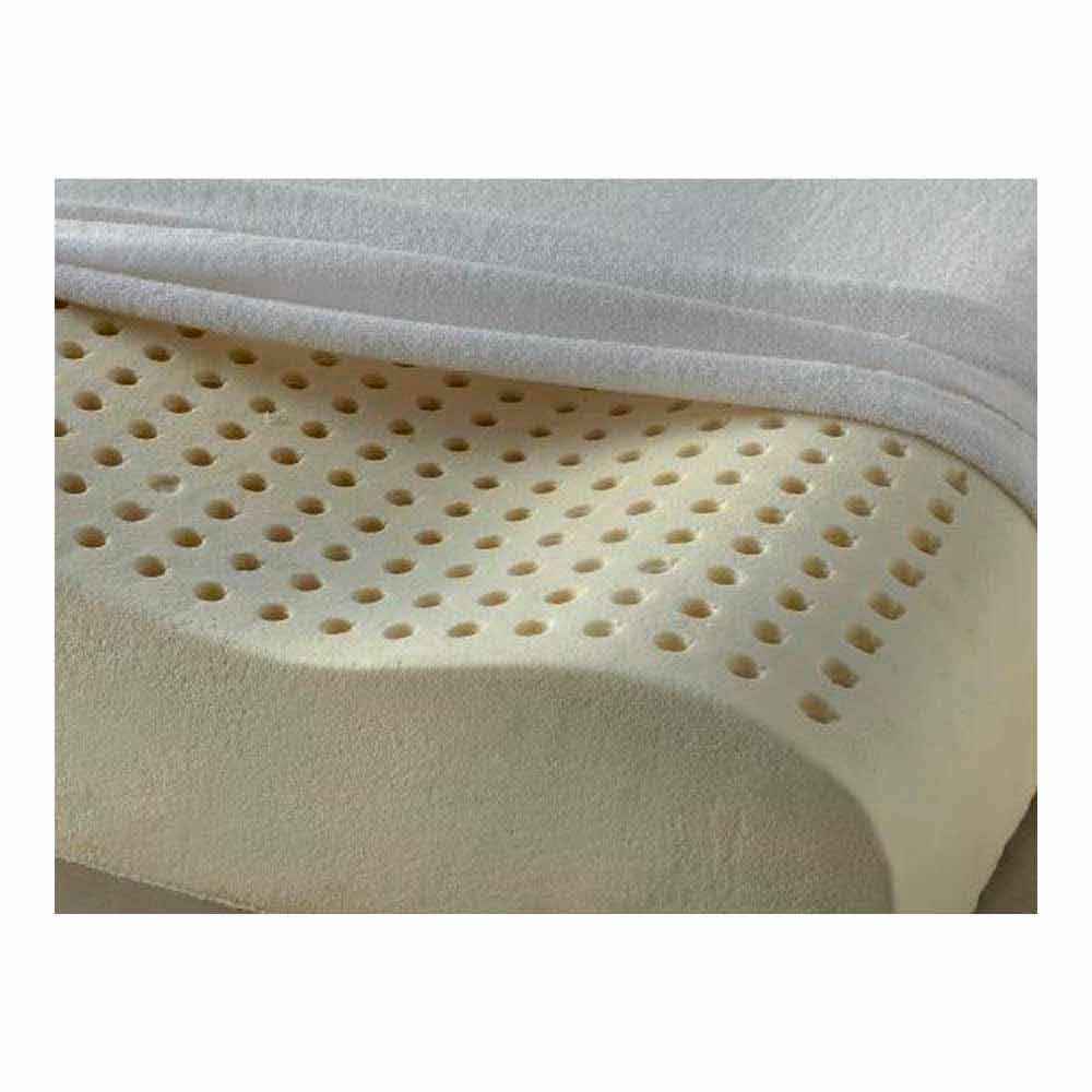 coussin latex 100 bio col de l 39 ut rus ergonomique et respirant accord e. Black Bedroom Furniture Sets. Home Design Ideas