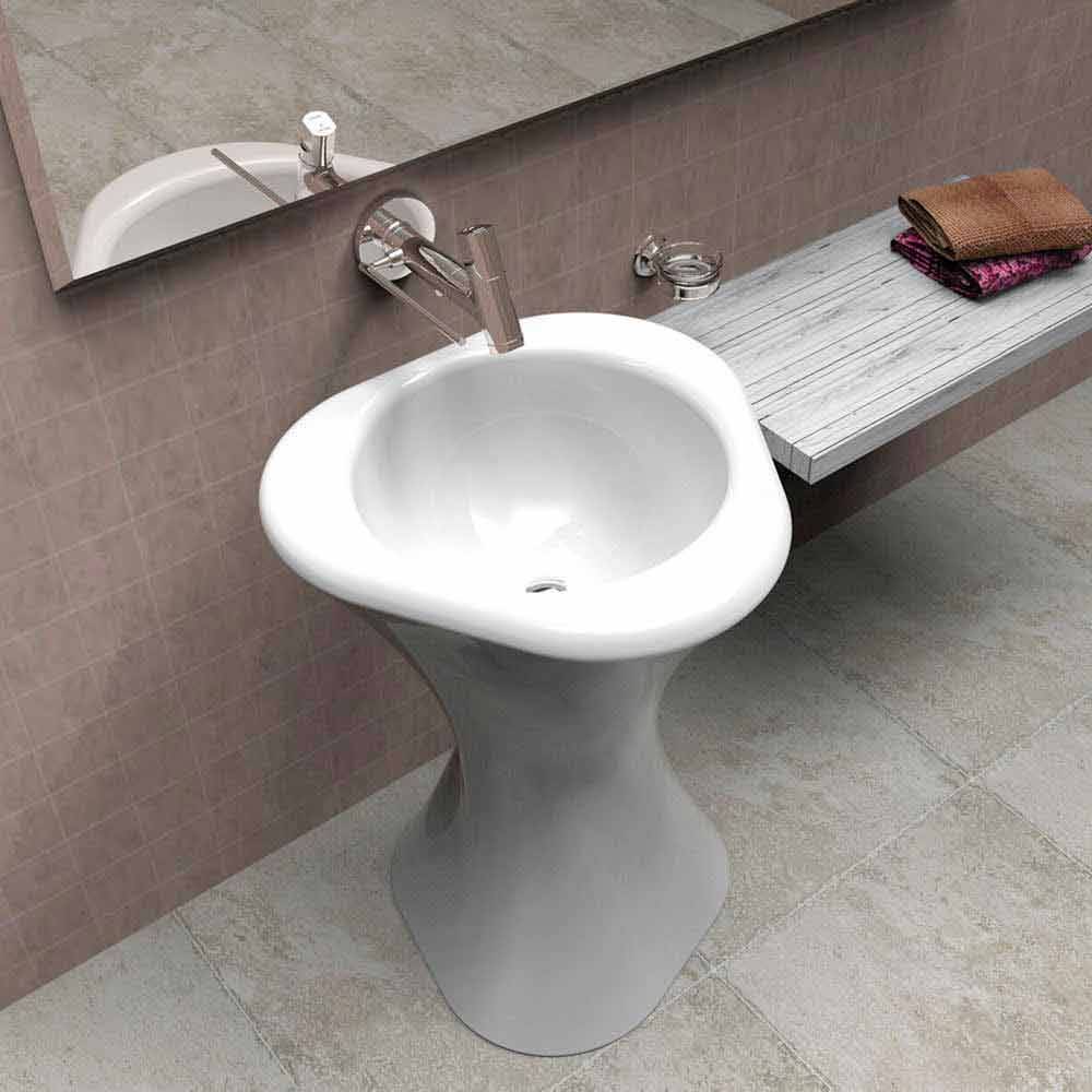 Lavabos salle de bain design twister made in italy par zad italy ...