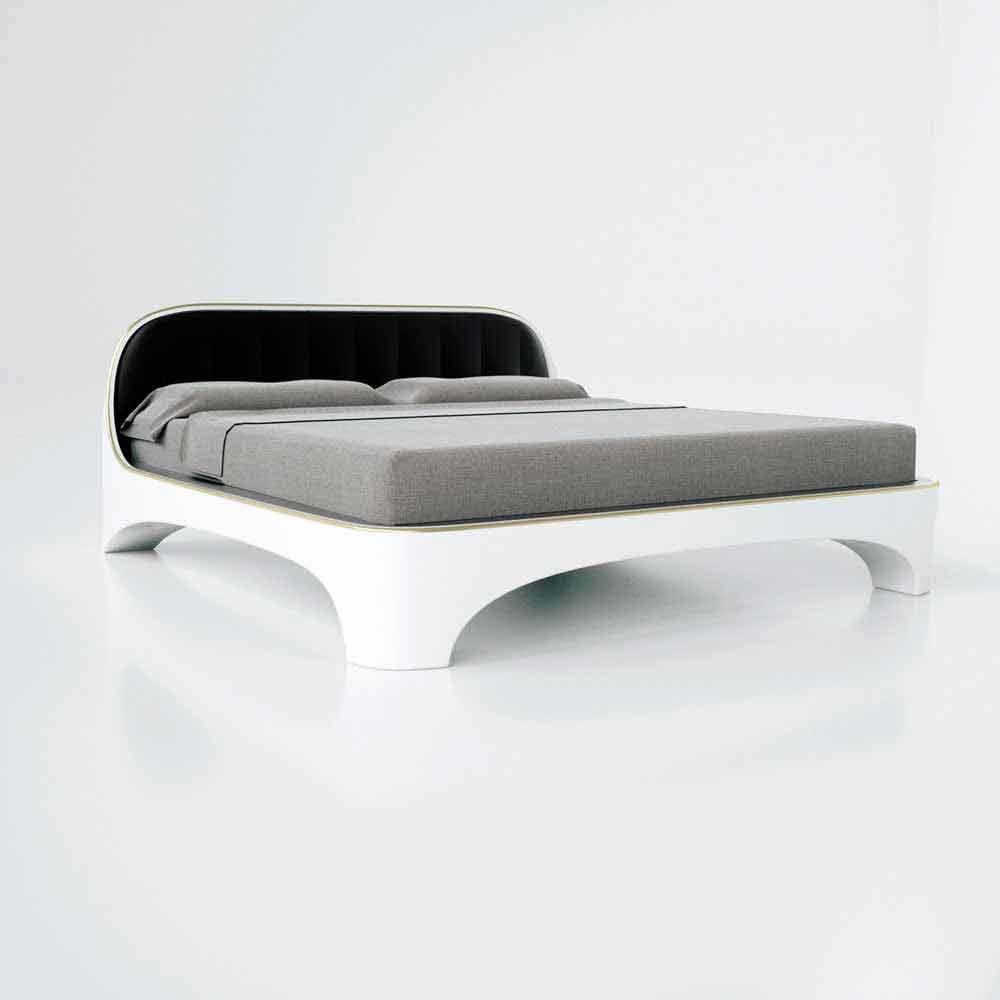 Lit double de design moderne luxury fabriqu en italie for Letti moderni design