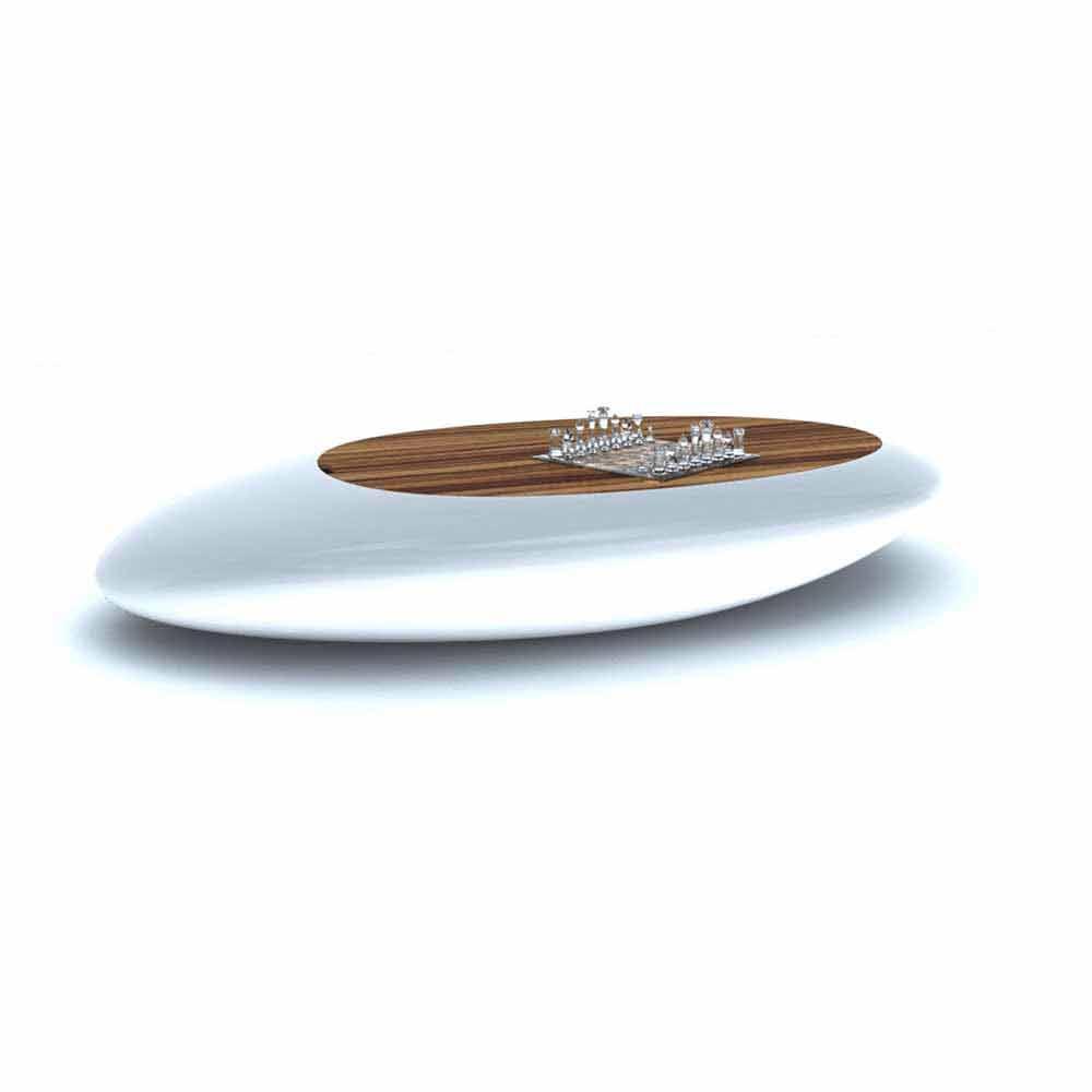 Table Basse Design Moderne Drop Made in Italy par Zad - Vadurini.fr