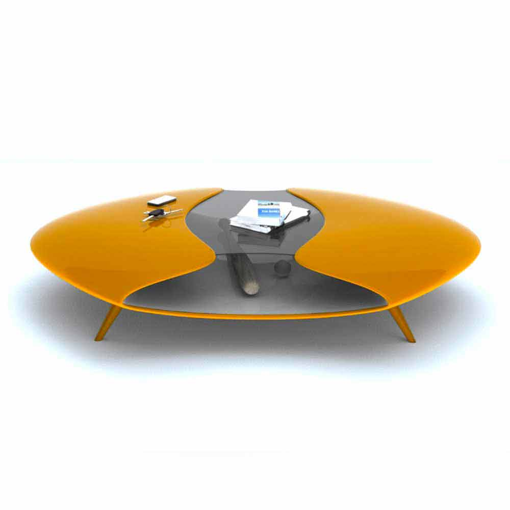 Table basse design alien fabriqu en italie par zad italy sur - Table basse ouvrable ...