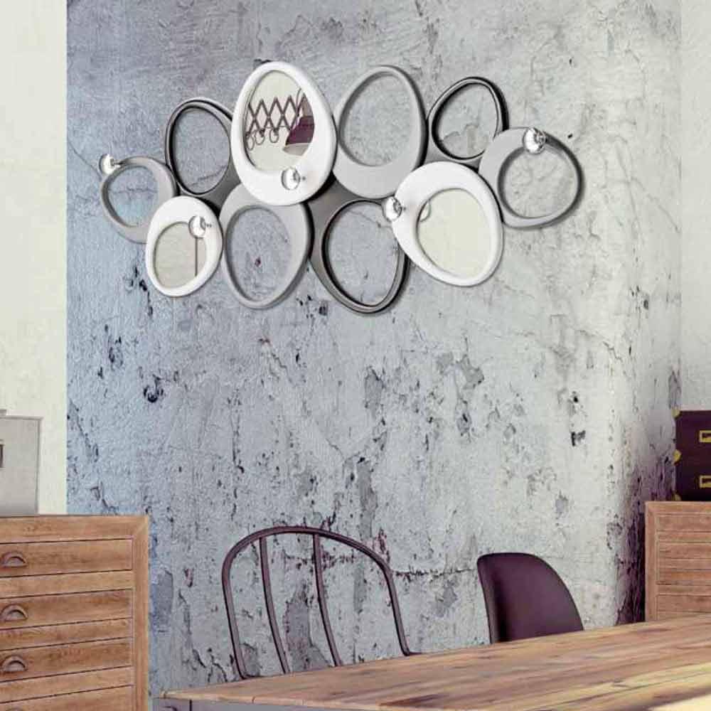 Porte manteau d coratif de design italien molecole - Appendiabiti da parete design ...