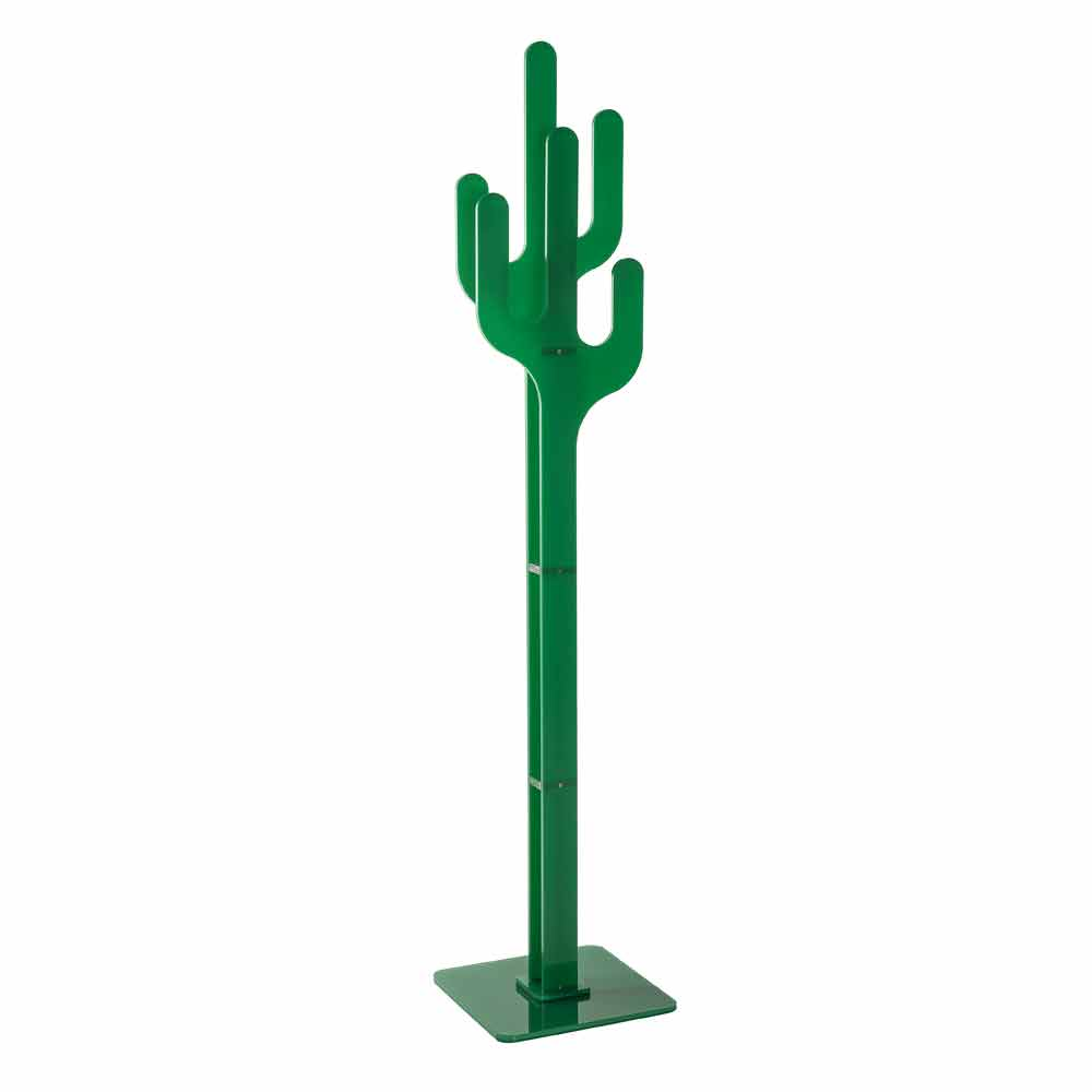 portemanteau de design moderne vert cactus fait en italie portemanteaux sur pied viadurini. Black Bedroom Furniture Sets. Home Design Ideas