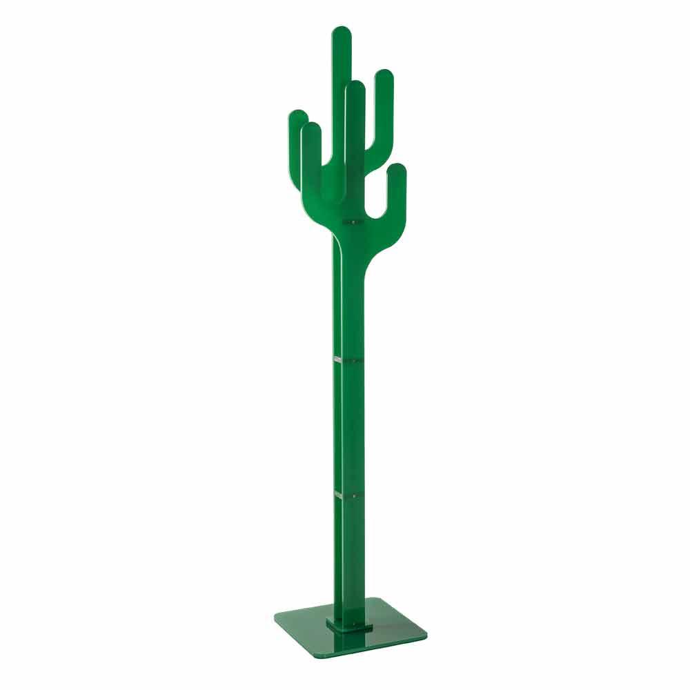 Portemanteau de design moderne vert cactus fait en italie - Cactus porte manteau ...