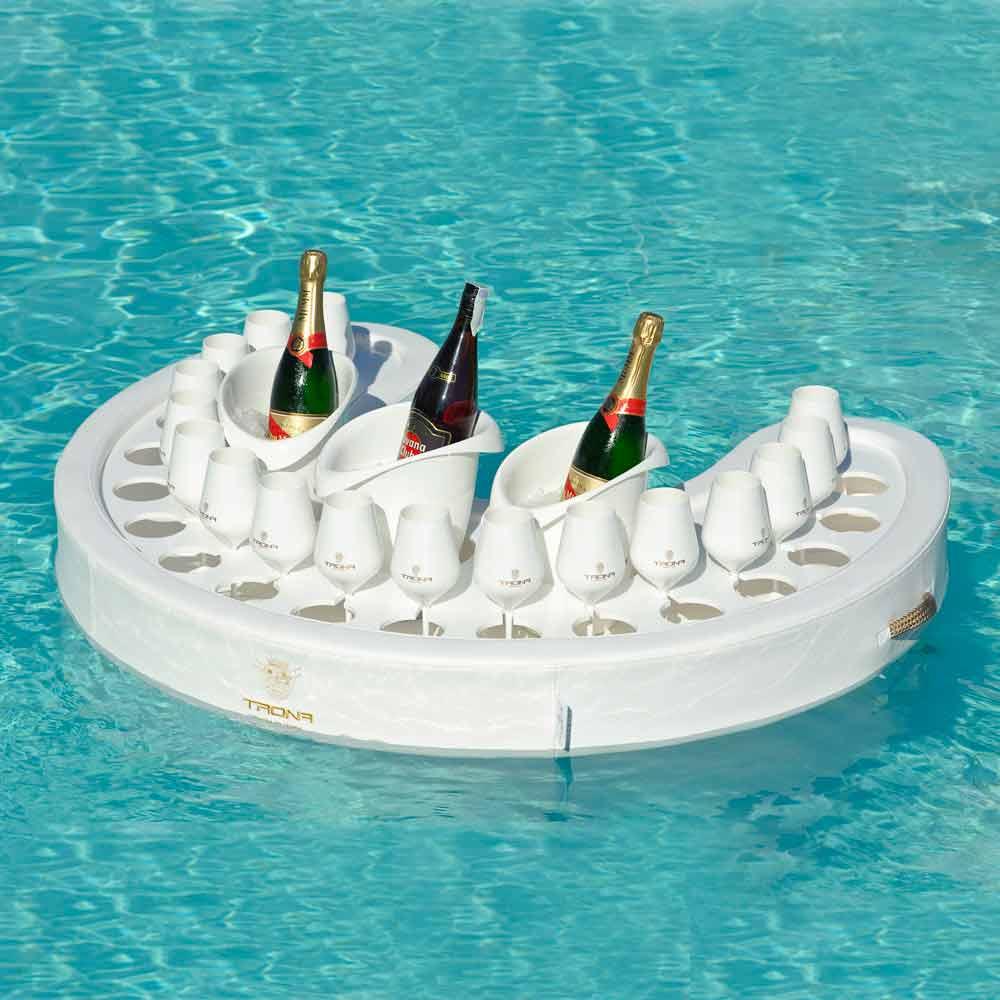 bar flottant pour piscine trona de design moderne fait en. Black Bedroom Furniture Sets. Home Design Ideas