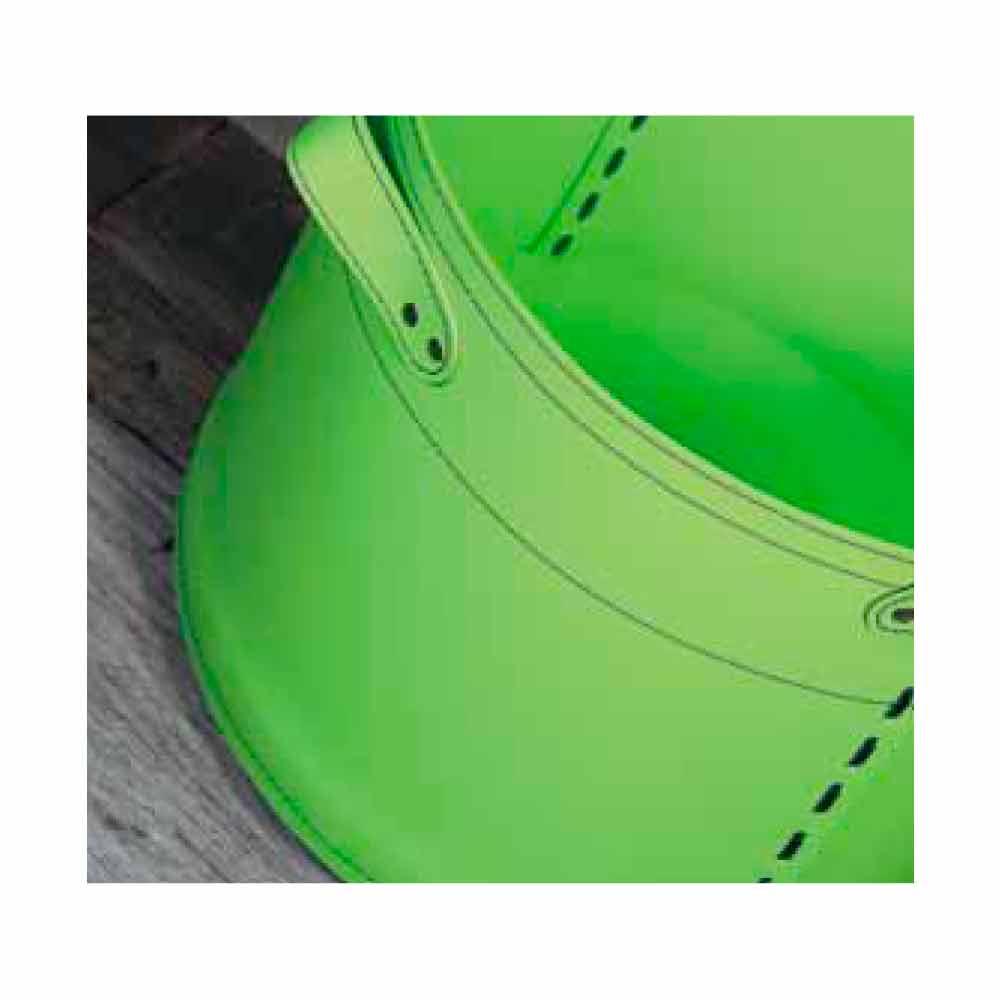 Porte b ches design en cuir roulettes cartesio made in italy - Sac a buches design ...