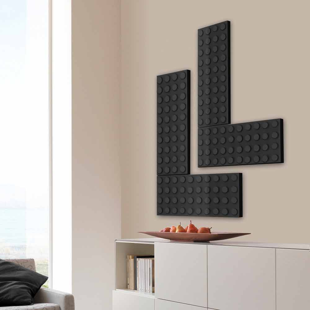 radiateur d coratif lectrique de design moderne brick par. Black Bedroom Furniture Sets. Home Design Ideas