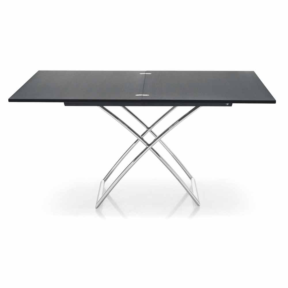 connubia calligaris magic j table basse extensible moderne en bois. Black Bedroom Furniture Sets. Home Design Ideas