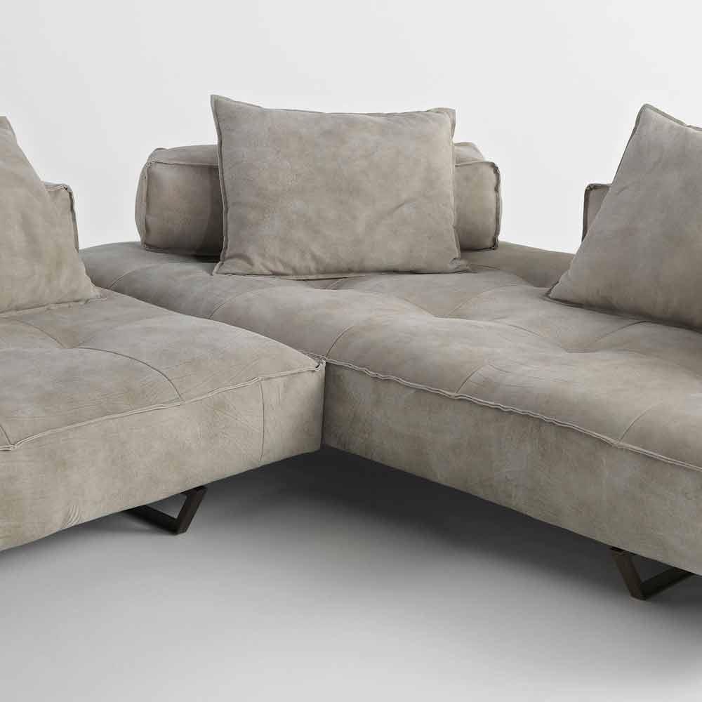 canap modulable design moderne cardo rev tement en cuir. Black Bedroom Furniture Sets. Home Design Ideas
