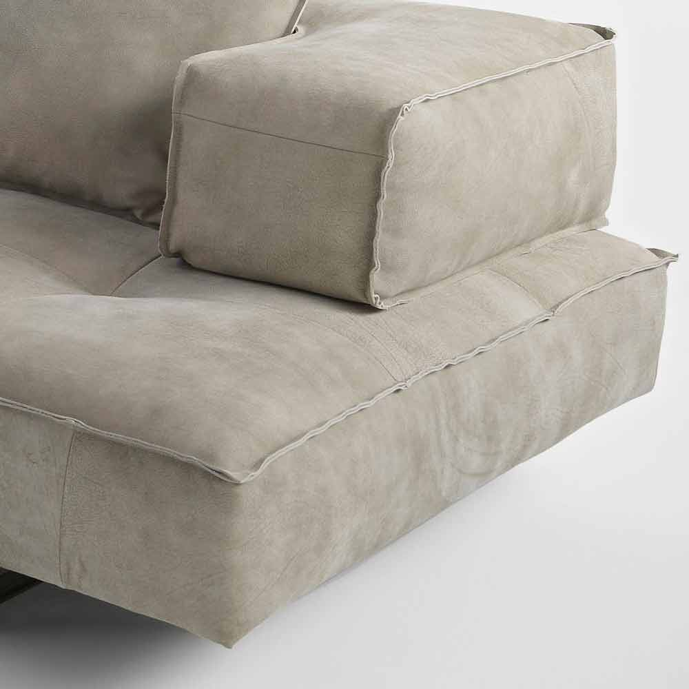 Canape Modulable Moderne : Canapé modulable design moderne cardo revȇtement en cuir