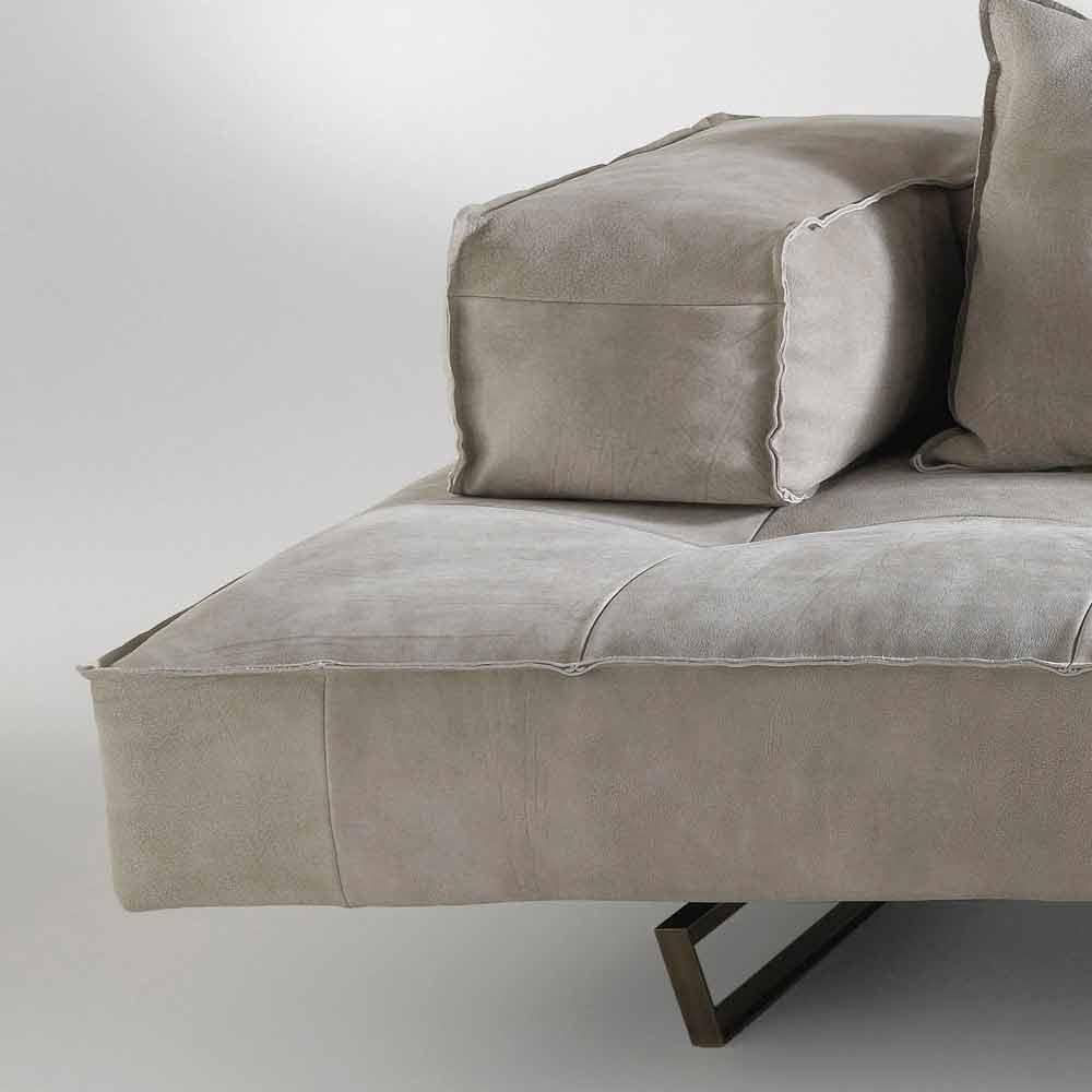 Canap modulable design moderne cardo rev tement en cuir for Canape moderne design