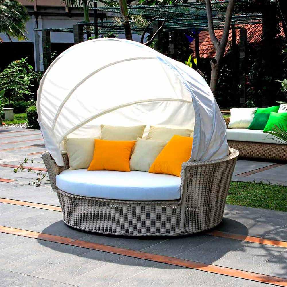 canap lit de jardin hector tress la main de design moderne. Black Bedroom Furniture Sets. Home Design Ideas