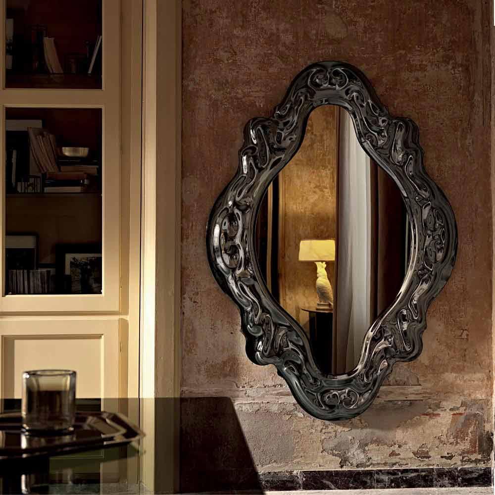 Fiam vebl n new baroque miroir de design moderne fait en for Miroir baroque design