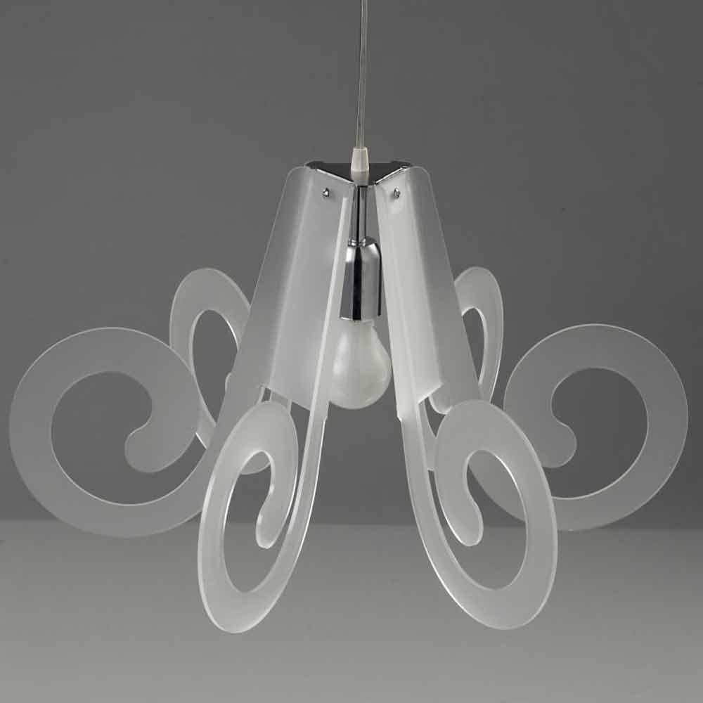 lampe suspension m thacrylate design moderne diam tre 55cm livia. Black Bedroom Furniture Sets. Home Design Ideas