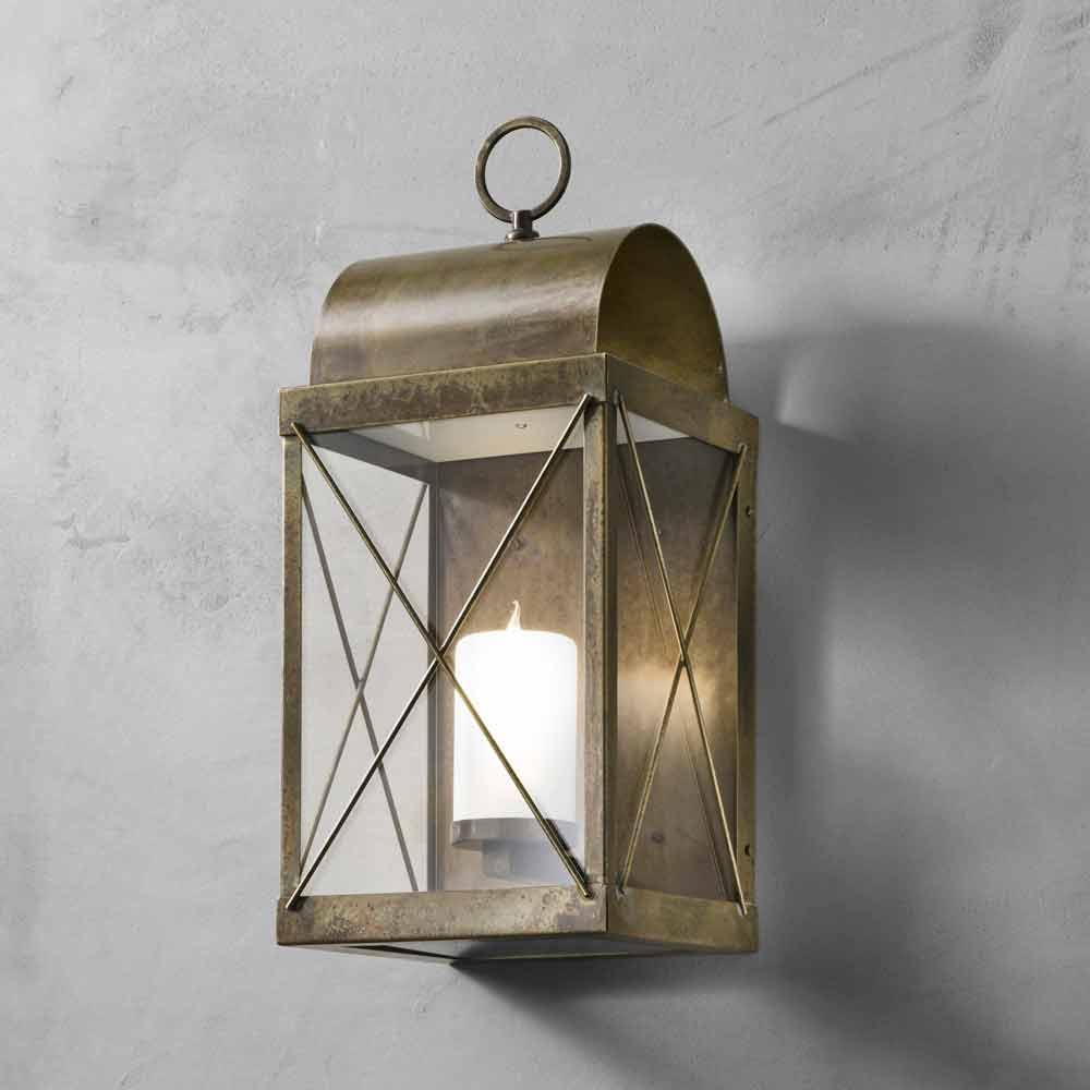 Lanterne de jardin en fer ou laiton faite en italie il fanale - Lanterne da esterno ...
