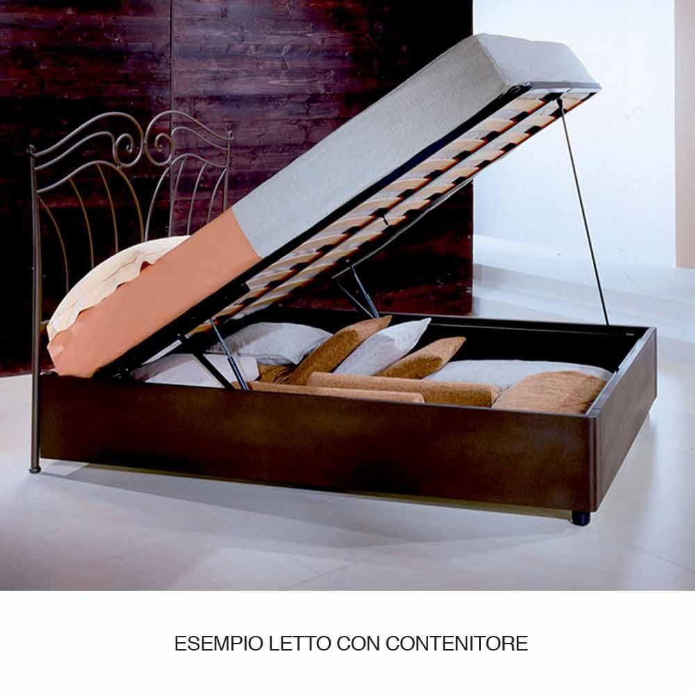 lit une place en fer forg ares fait la main en italie. Black Bedroom Furniture Sets. Home Design Ideas