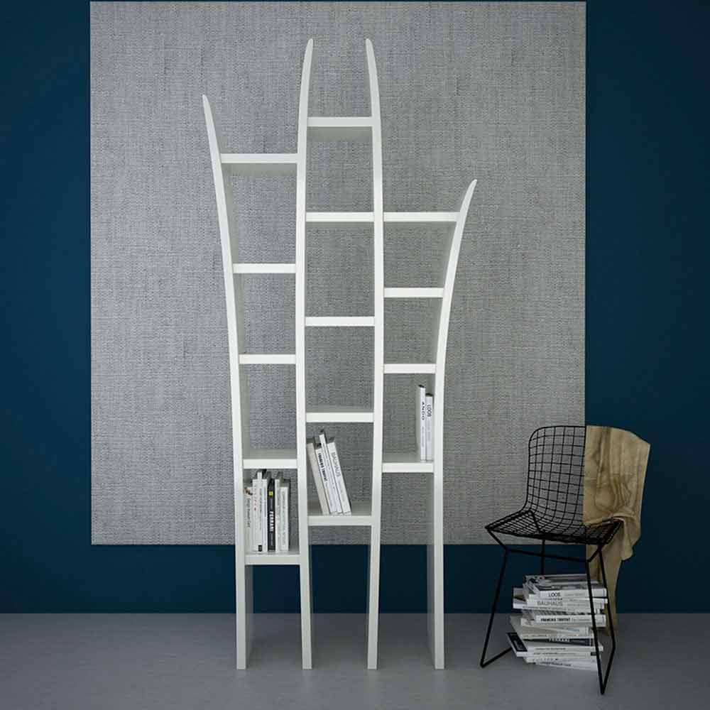 biblioth que moderne en adamantx faite en italie herba. Black Bedroom Furniture Sets. Home Design Ideas
