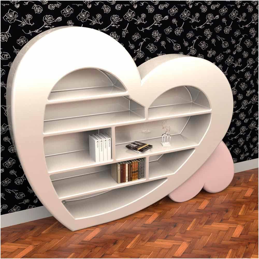 biblioth que de design en adamantx fabriqu e en italie cuore. Black Bedroom Furniture Sets. Home Design Ideas