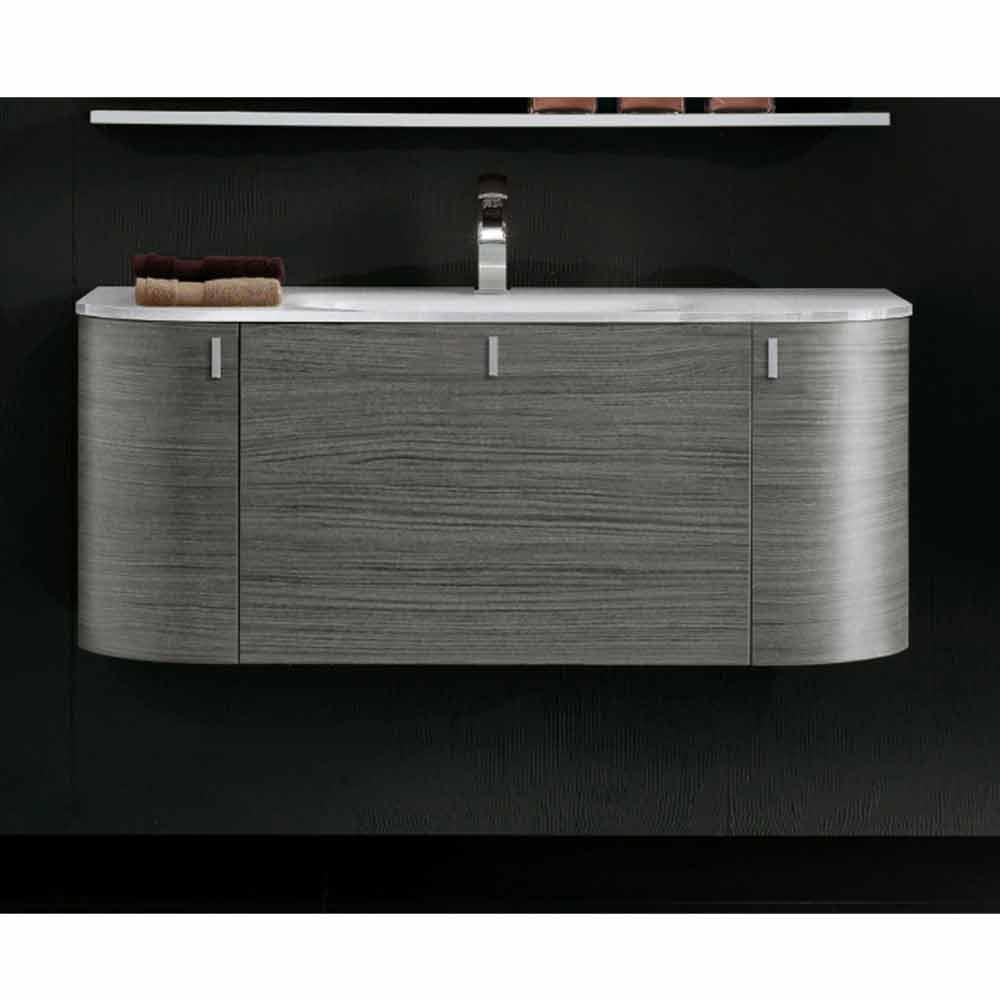 Meuble pour salle de bain suspendu avec 1cestone 2ante for Meuble avec lavabo pour salle de bain