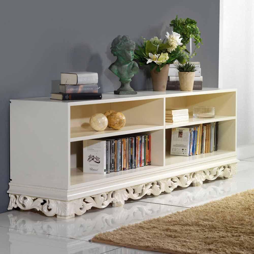 meuble container de design en bois de 4 sections rabel. Black Bedroom Furniture Sets. Home Design Ideas