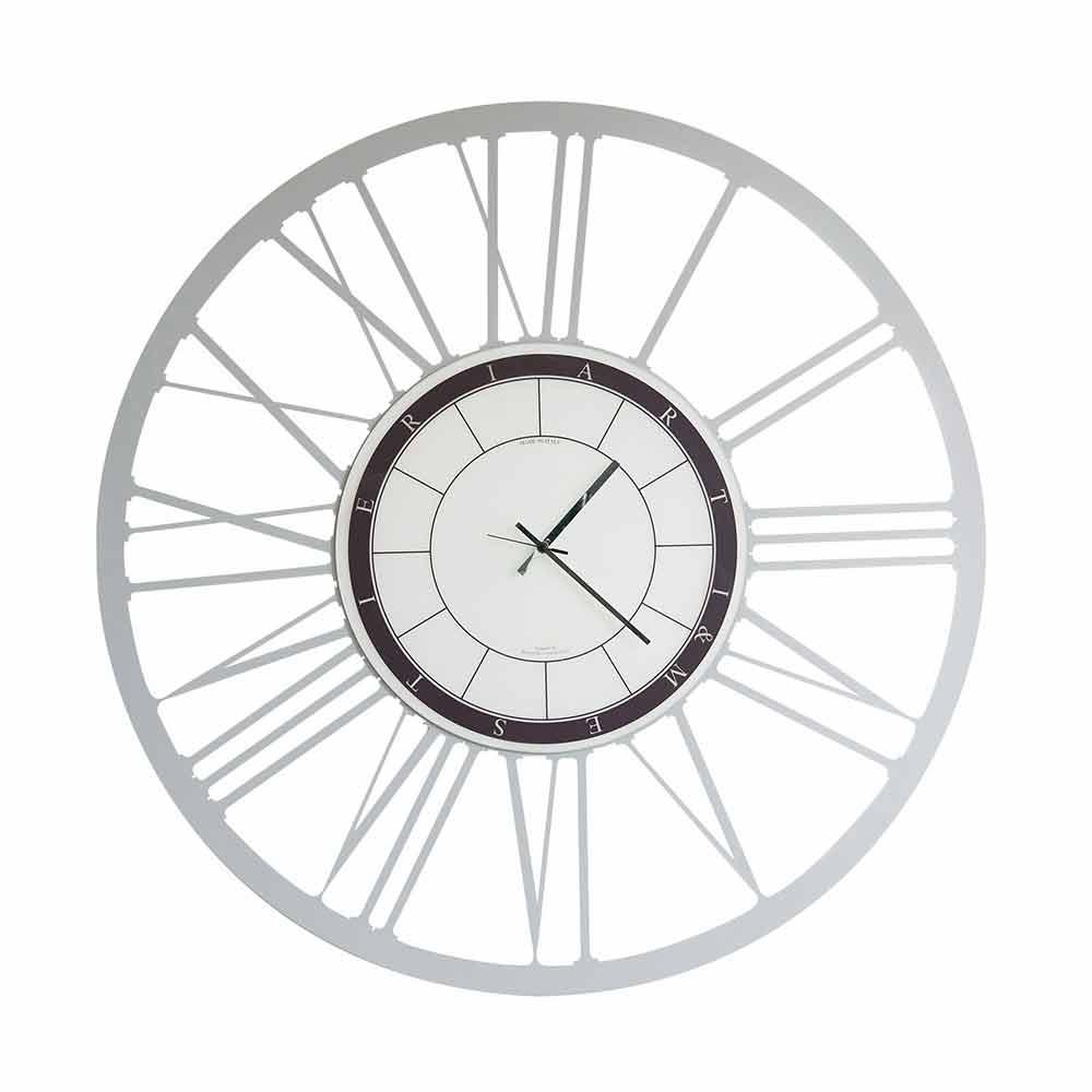 Grosse Horloge Fer Forgé grande horloge murale moderne en fer fabriquée en italie - einar