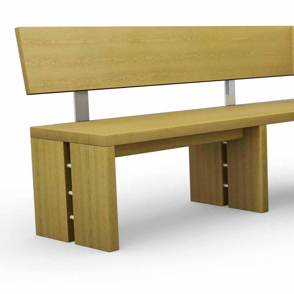 banc design d 39 angle en ch ne fabriqu en italie candy. Black Bedroom Furniture Sets. Home Design Ideas