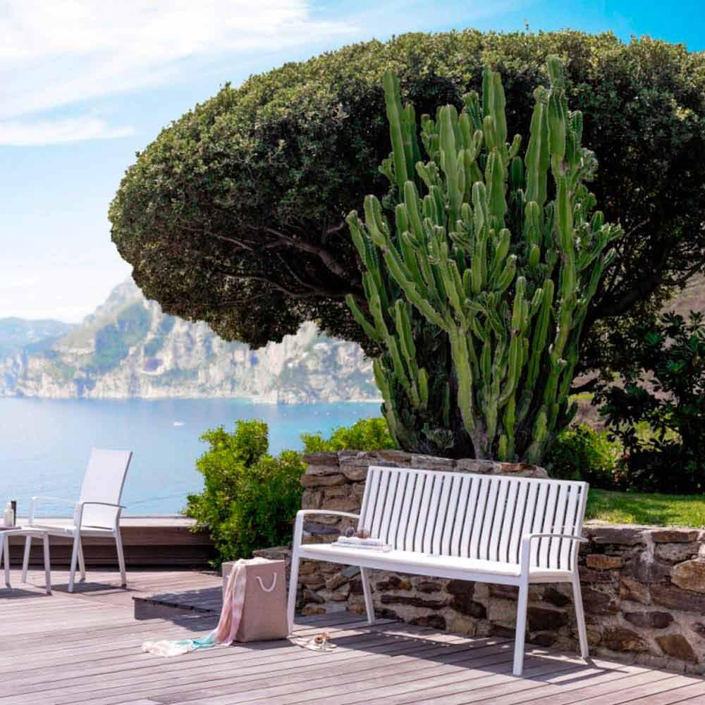 banc de jardin de design moderne en aluminium lady. Black Bedroom Furniture Sets. Home Design Ideas