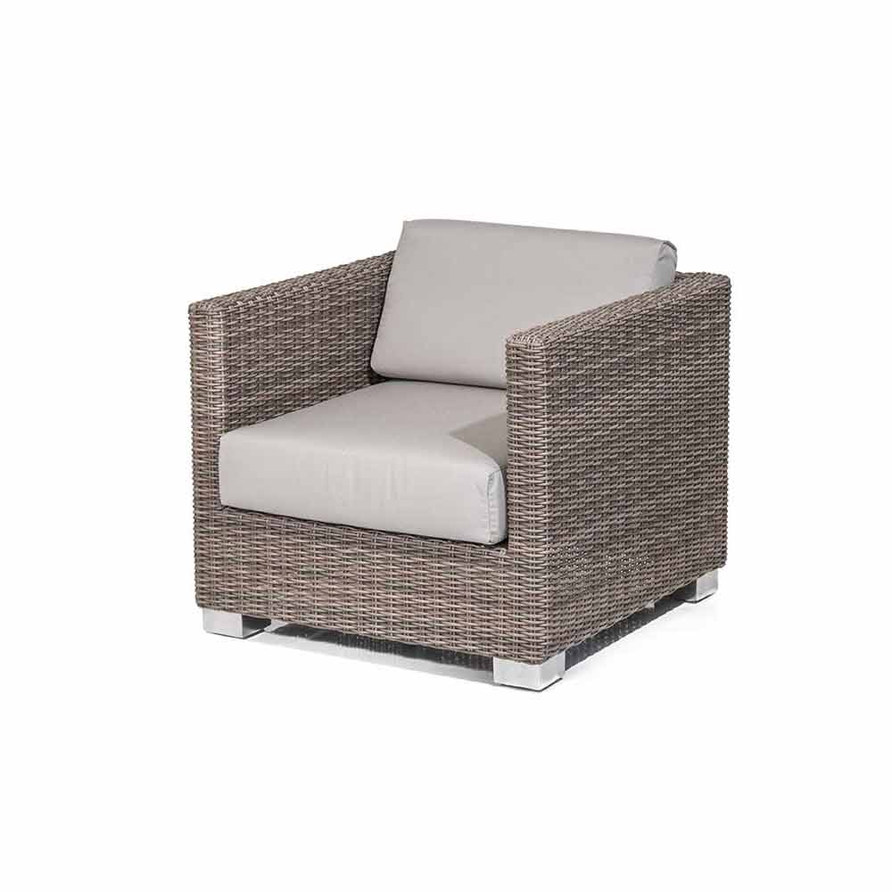 fauteuil de jardin elsa tress la main de design moderne. Black Bedroom Furniture Sets. Home Design Ideas