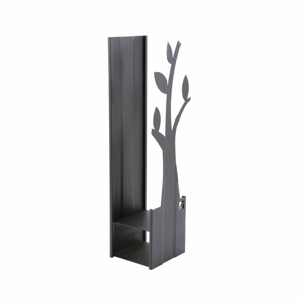 serviteur porte b ches d 39 int rieur fait en acier plv a fait en italie. Black Bedroom Furniture Sets. Home Design Ideas