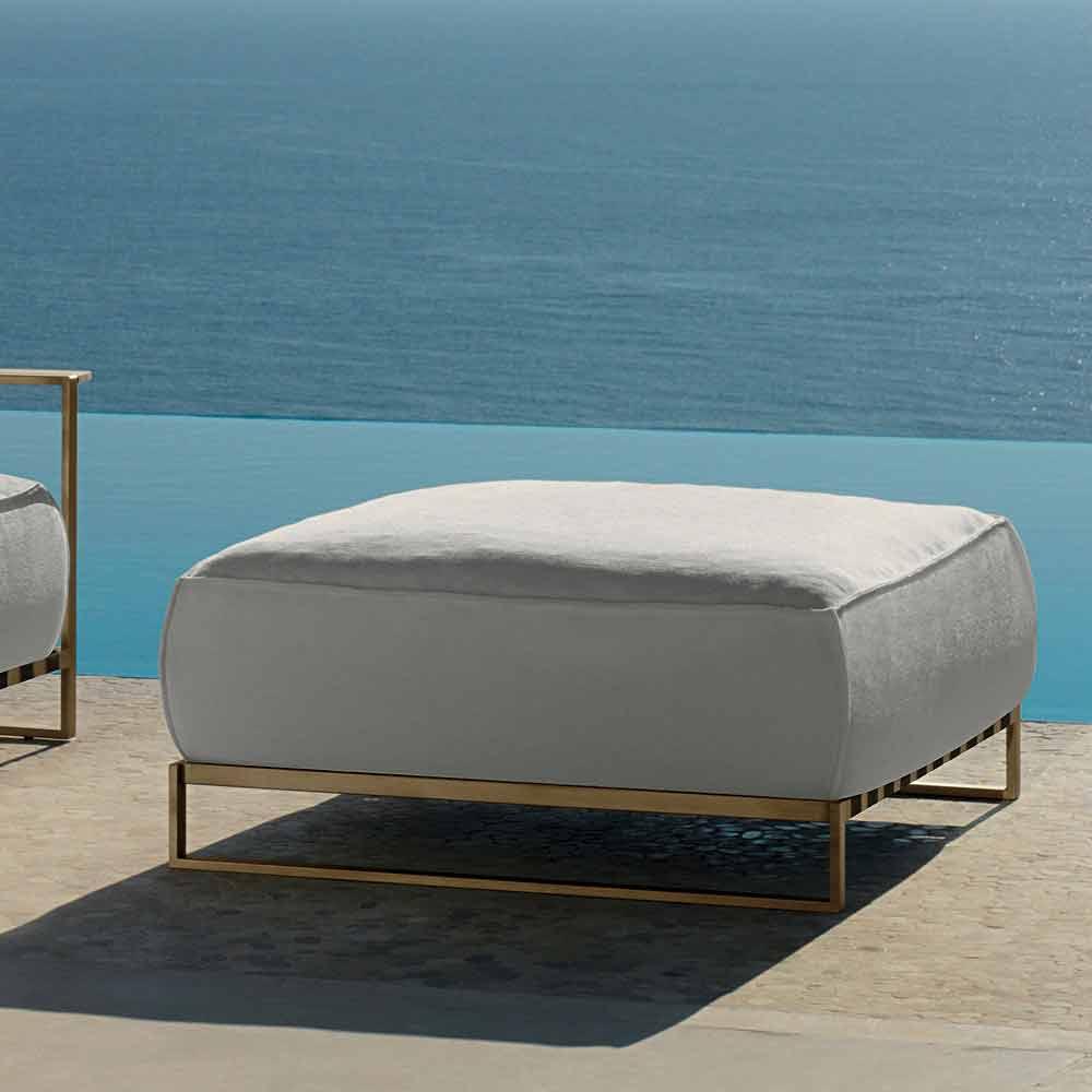 pouf de jardin design moderne casilda par talenti. Black Bedroom Furniture Sets. Home Design Ideas