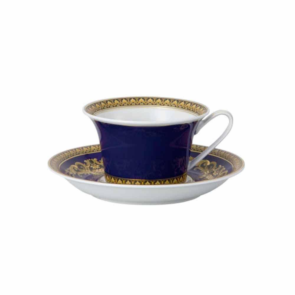 rosenthal versace medusa blue tasse th en porcelaine moderne. Black Bedroom Furniture Sets. Home Design Ideas