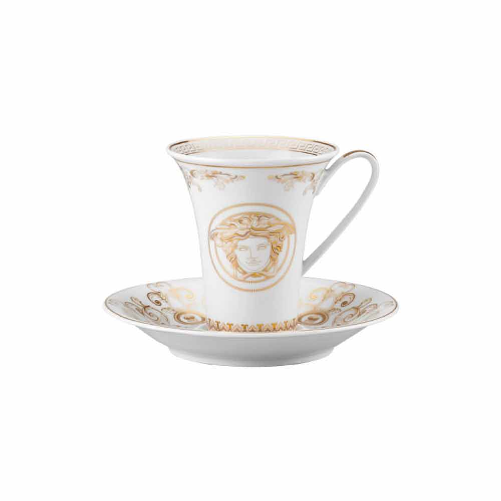rosenthal versace medusa gala tasse caf haute en porcelaine. Black Bedroom Furniture Sets. Home Design Ideas