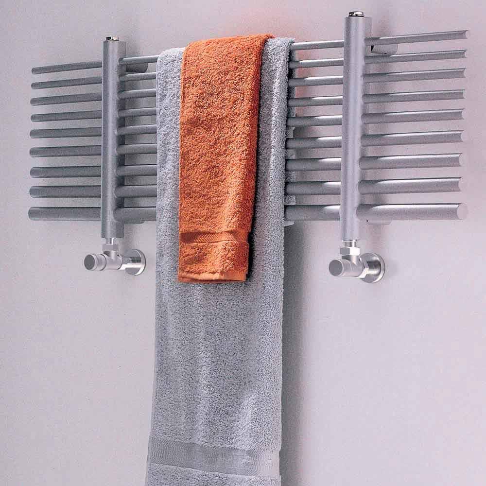 S che serviette horizontal eau chaude de design selene scirocco h - Seche serviette horizontal ...