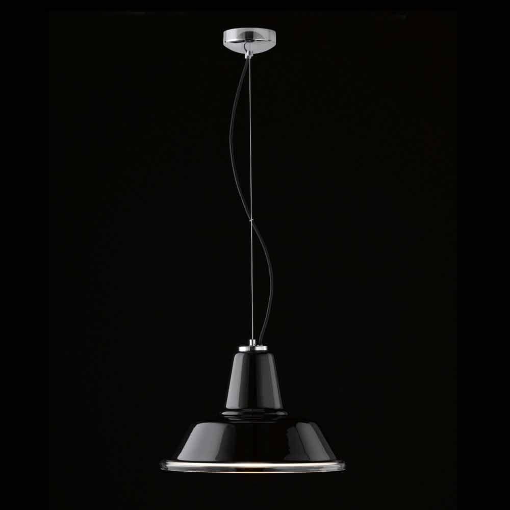 selene lampara lampe suspendue en verre souffl 37 h 24. Black Bedroom Furniture Sets. Home Design Ideas