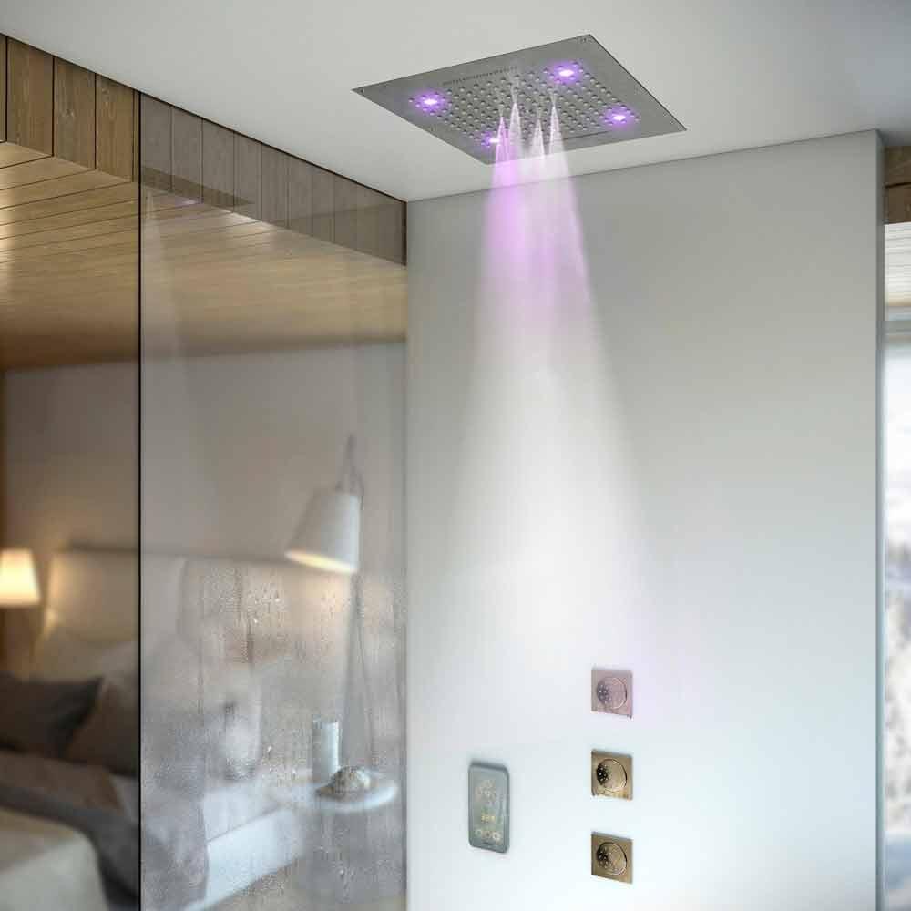 douche pluie plafond fashion designs. Black Bedroom Furniture Sets. Home Design Ideas