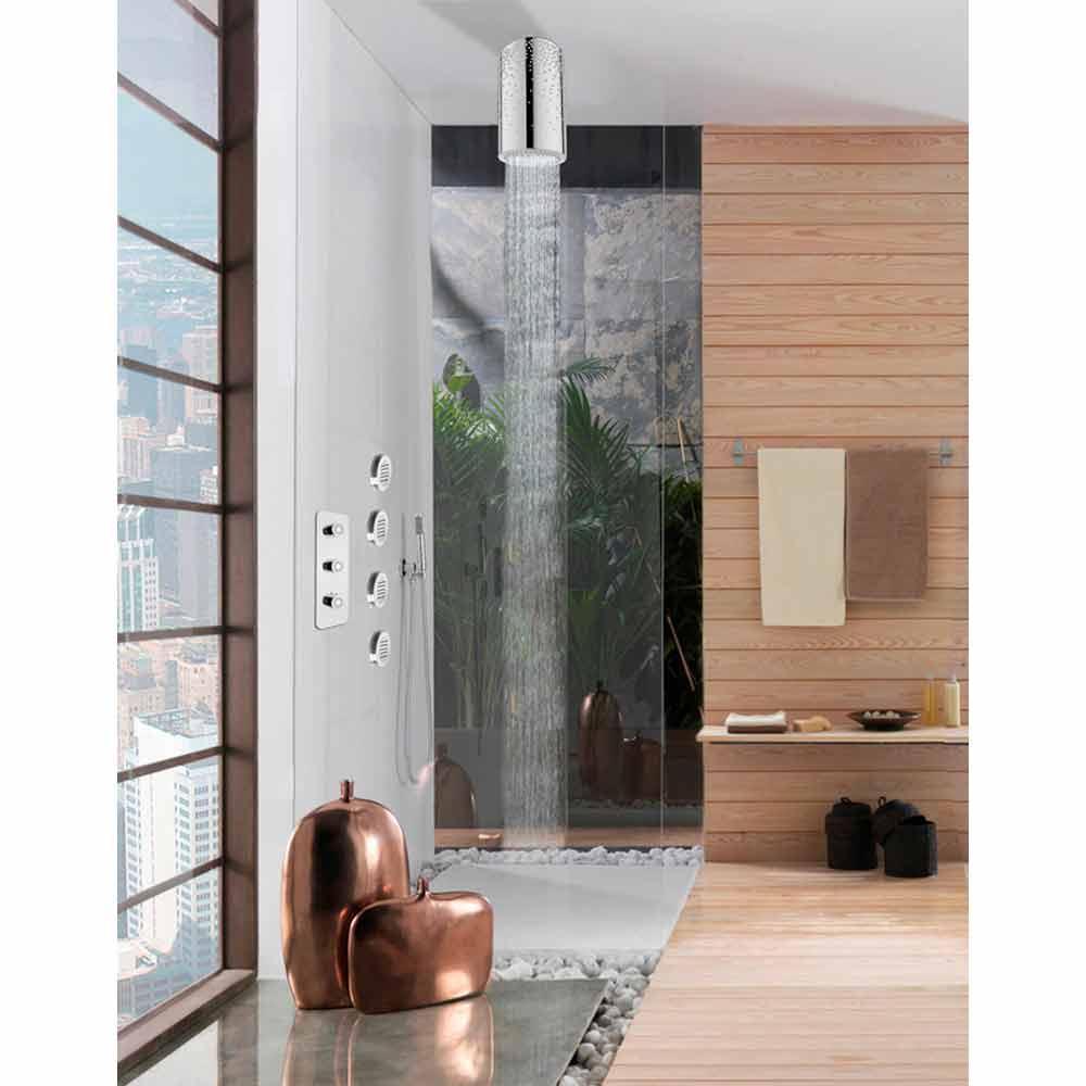 bossini plafond de douche avec swarovski. Black Bedroom Furniture Sets. Home Design Ideas