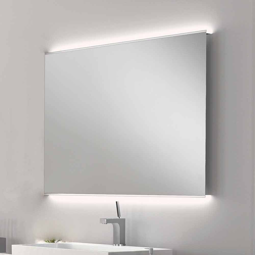 miroir de salle de bain avec design moderne luminaire led. Black Bedroom Furniture Sets. Home Design Ideas