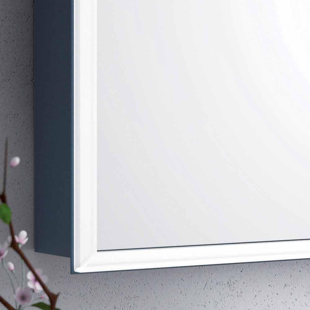 Miroir mural moderne 2 portes clairage led adele for Miroir mural moderne