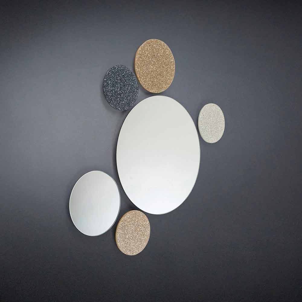 miroir rond de design moderne fait en italie addo. Black Bedroom Furniture Sets. Home Design Ideas