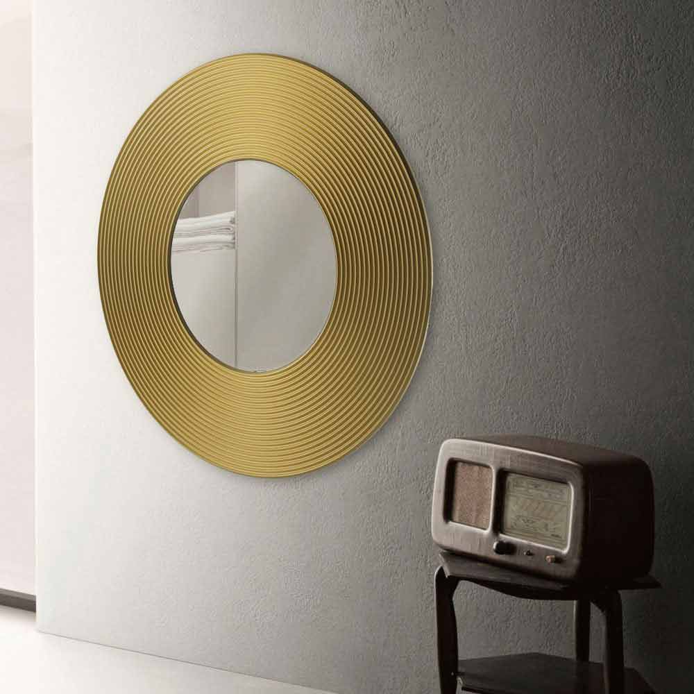 miroir mural design moderne malva diff rentes couleurs disponible. Black Bedroom Furniture Sets. Home Design Ideas