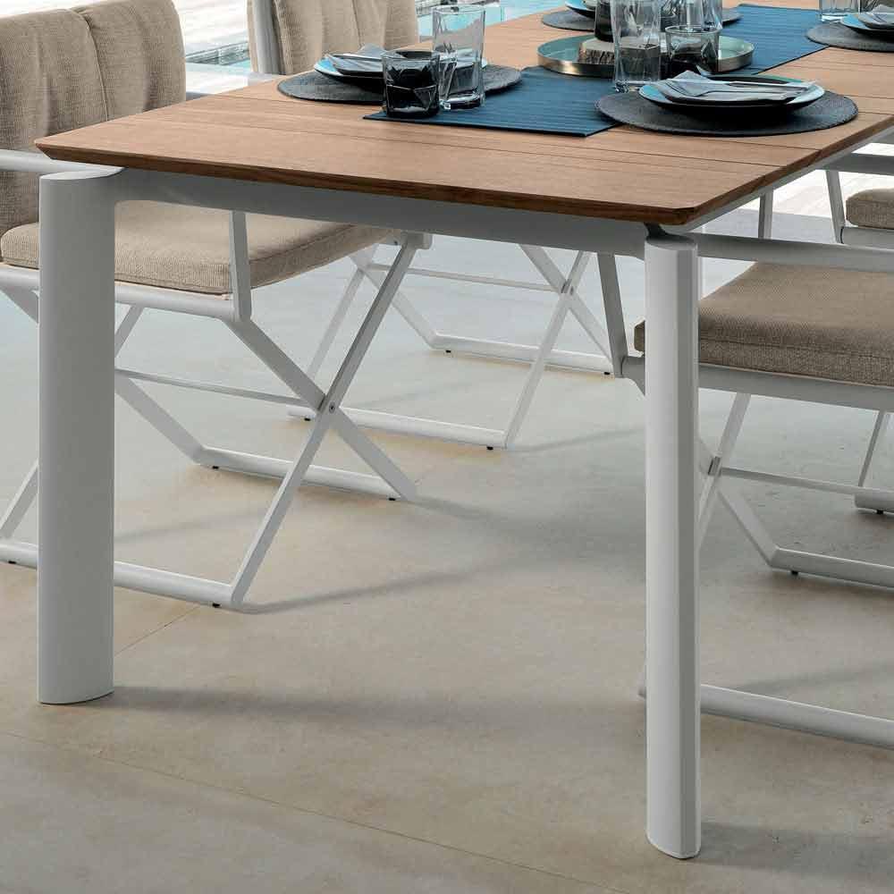 Italie En Table Faite Domino Jardin De 160215cm Extensible Talenti n8kPXO0w