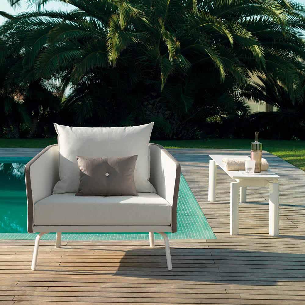 talenti milo banc de jardin de design moderne produit en italie. Black Bedroom Furniture Sets. Home Design Ideas