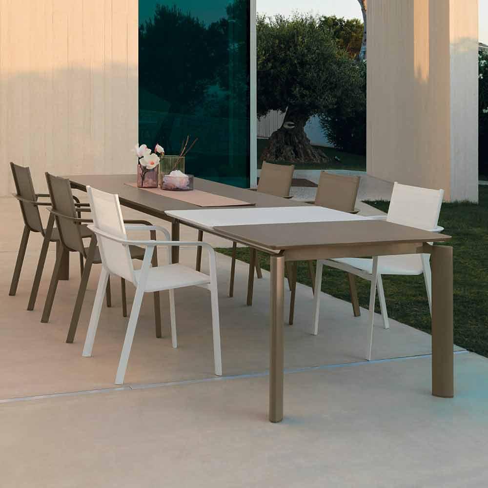 talenti milo table manger extensible d 39 ext rieur faite en italie. Black Bedroom Furniture Sets. Home Design Ideas