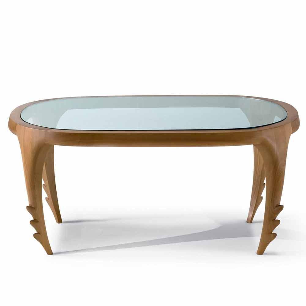 table basse cocktail design moderne en bois cm cecilia. Black Bedroom Furniture Sets. Home Design Ideas